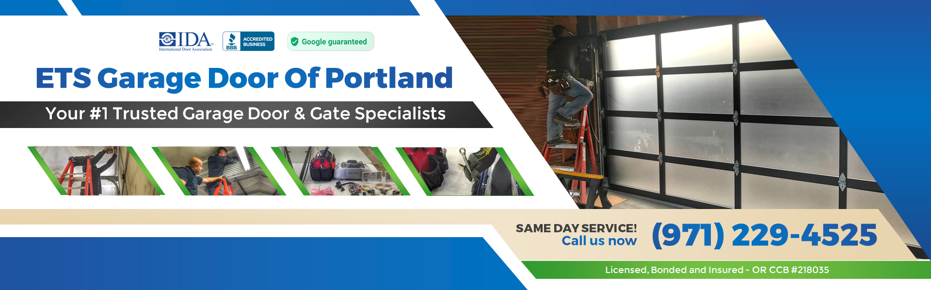 Ets garage door of portland repair installation for Garage door repair canby oregon