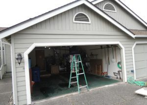 Garage Door Bent Panel Repair in West Linn OR By ETS Garage Door Of Portland OR