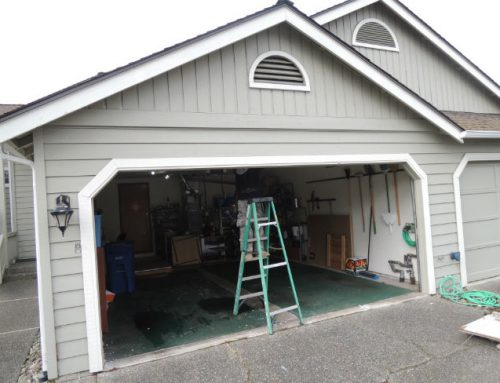 Garage Door Bent Panel Repair in West Linn OR