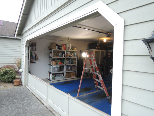 Garage Door Bent Panel Repair in West Linn OR By ETS Garage Door Of Portland OR