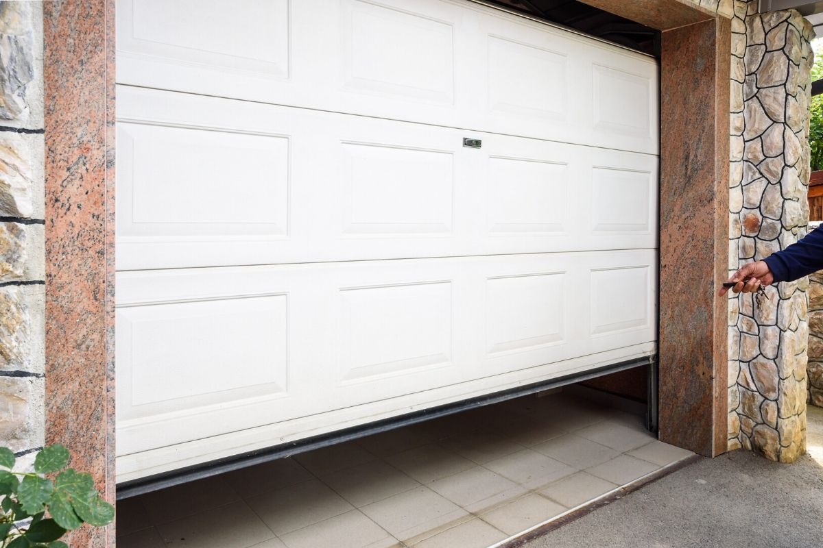 New Garage Door Installation In Sherwood By ETS Garage Door Of Portland OR